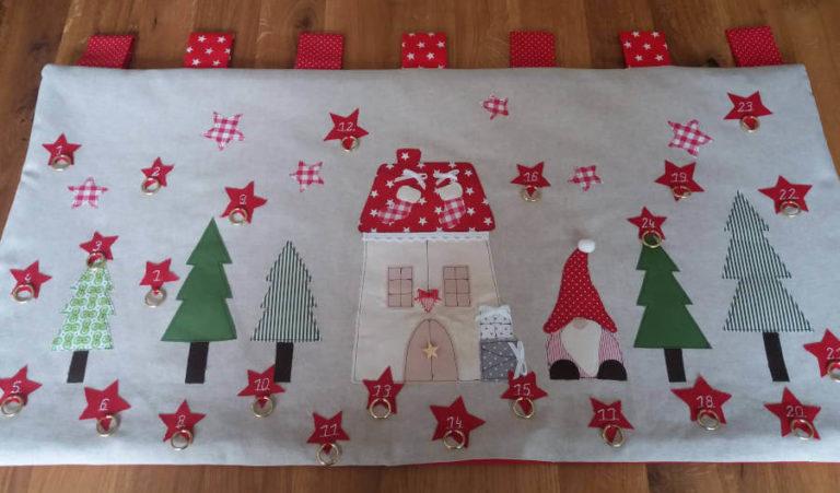 Adventkalender handgenäht