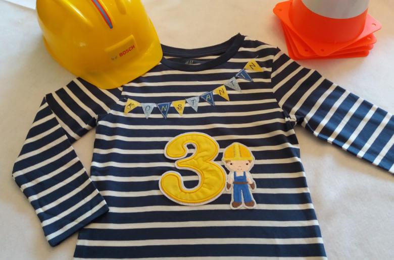 Geburtstags Shirt Bauarbeiter