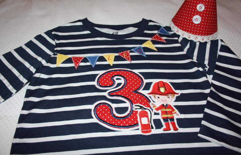 Geburtstags Shirt Feuerwehr