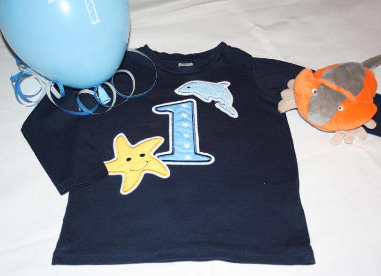 Geburtstags Shirt Meer
