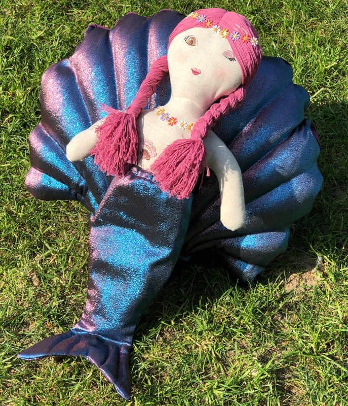 Meerjungfrauenpuppe