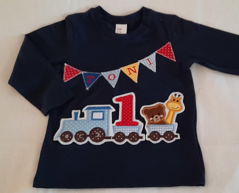 Geburtstags Shirt Eisenbahn
