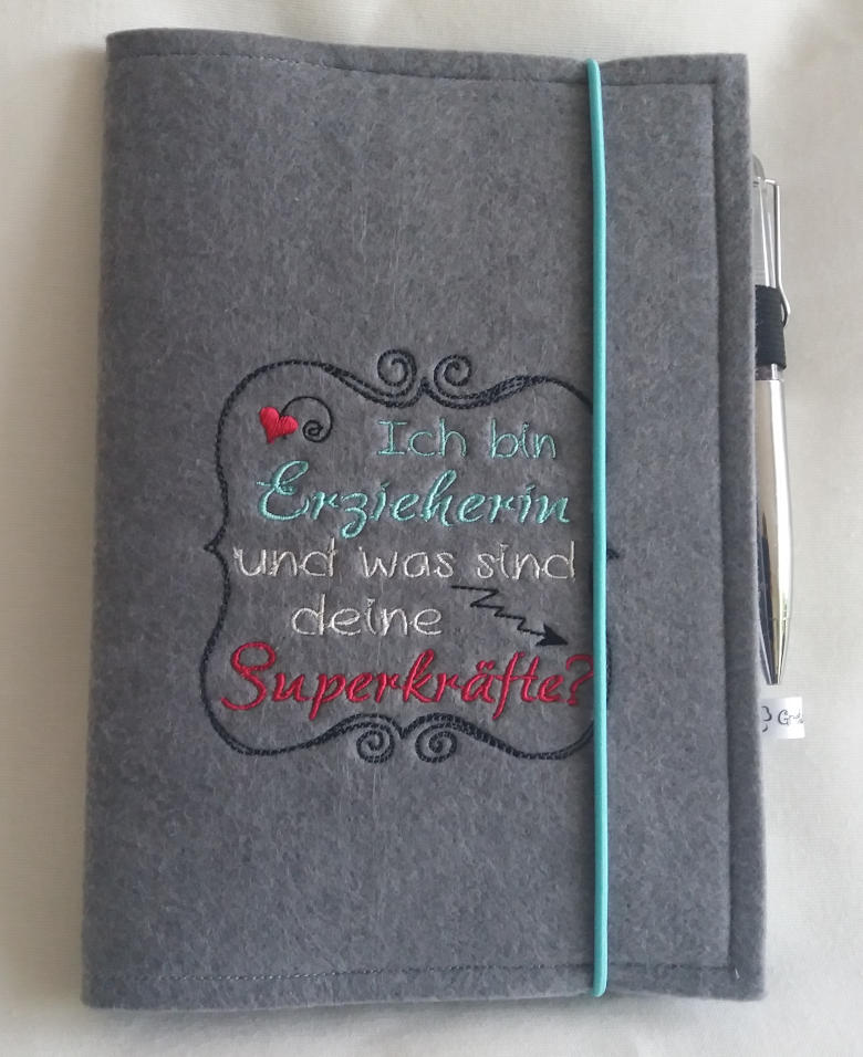 Notizbuch Hülle