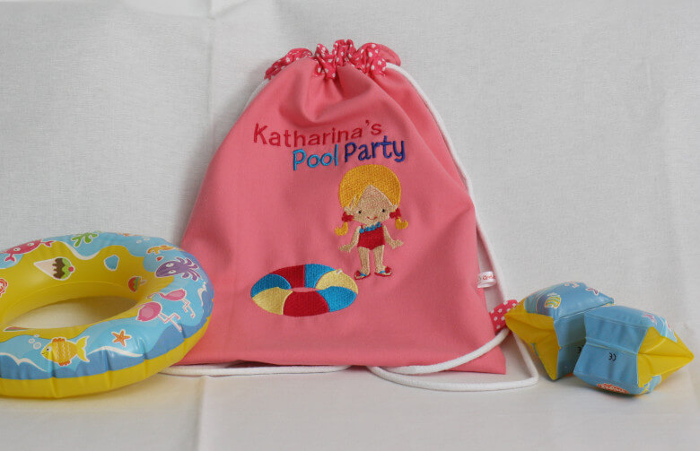 Rucksack Poolparty