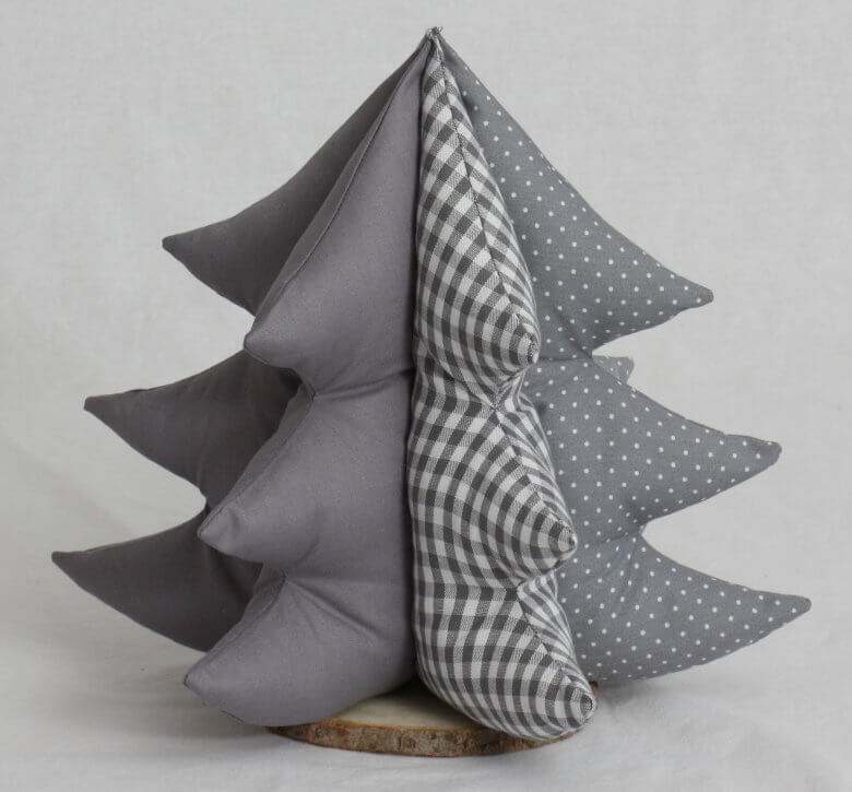 Deko Bäumchen 3D grau