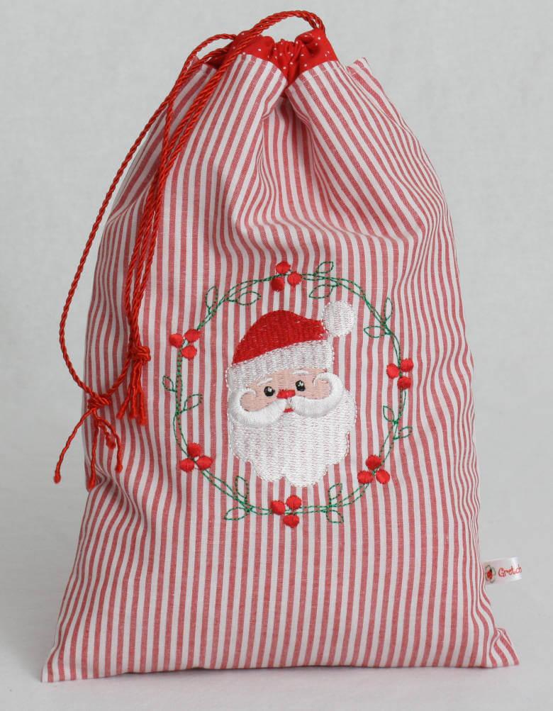 Geschenkbeutel Weihnachtsmann